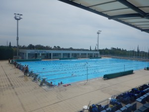 The Outdoor 50m Pool
